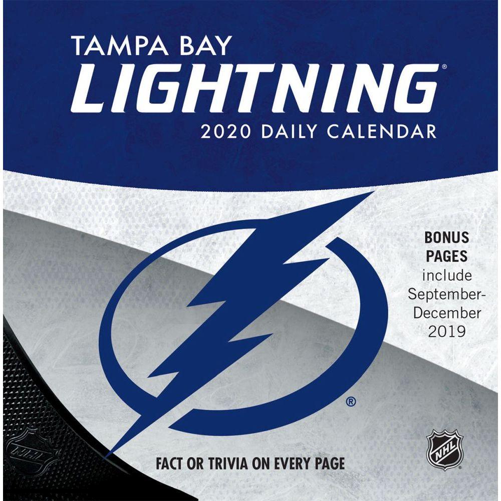 Tampa Bay Lightning 2021 Desk Calendar