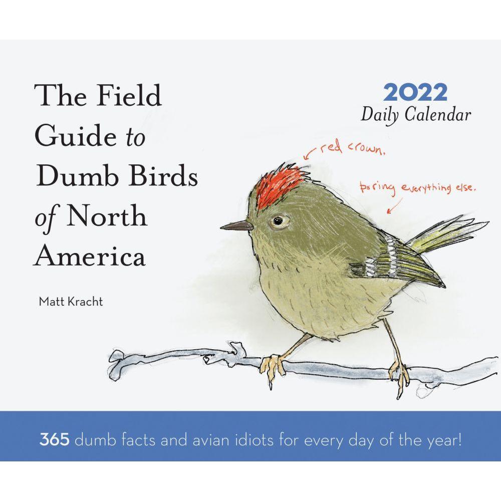 Dumb Birds 2022 Wall Calendar