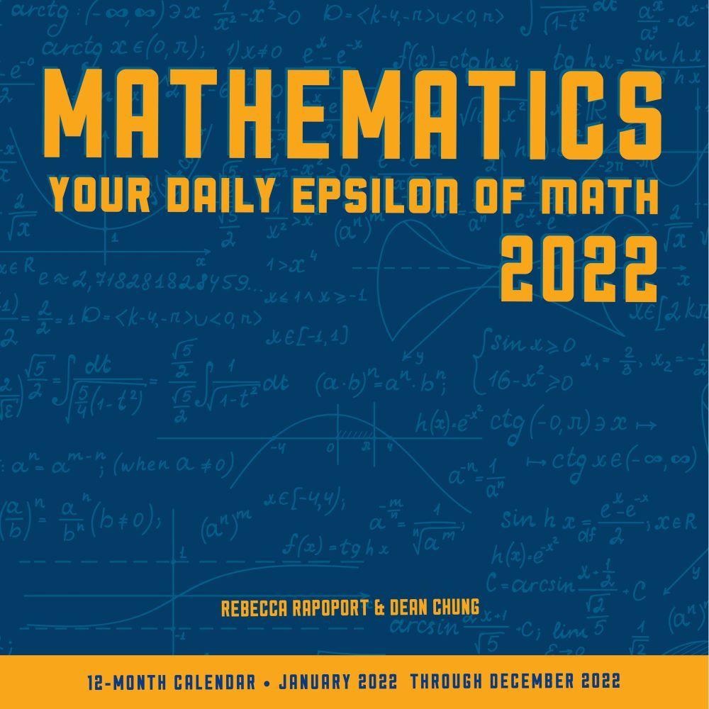Mathematics 2022 Wall Calendar