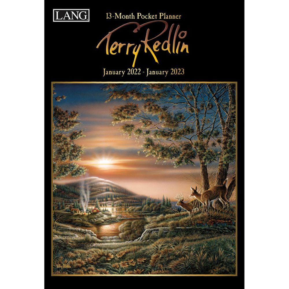 Terry Redlin Monthly 2022 Pocket Planner