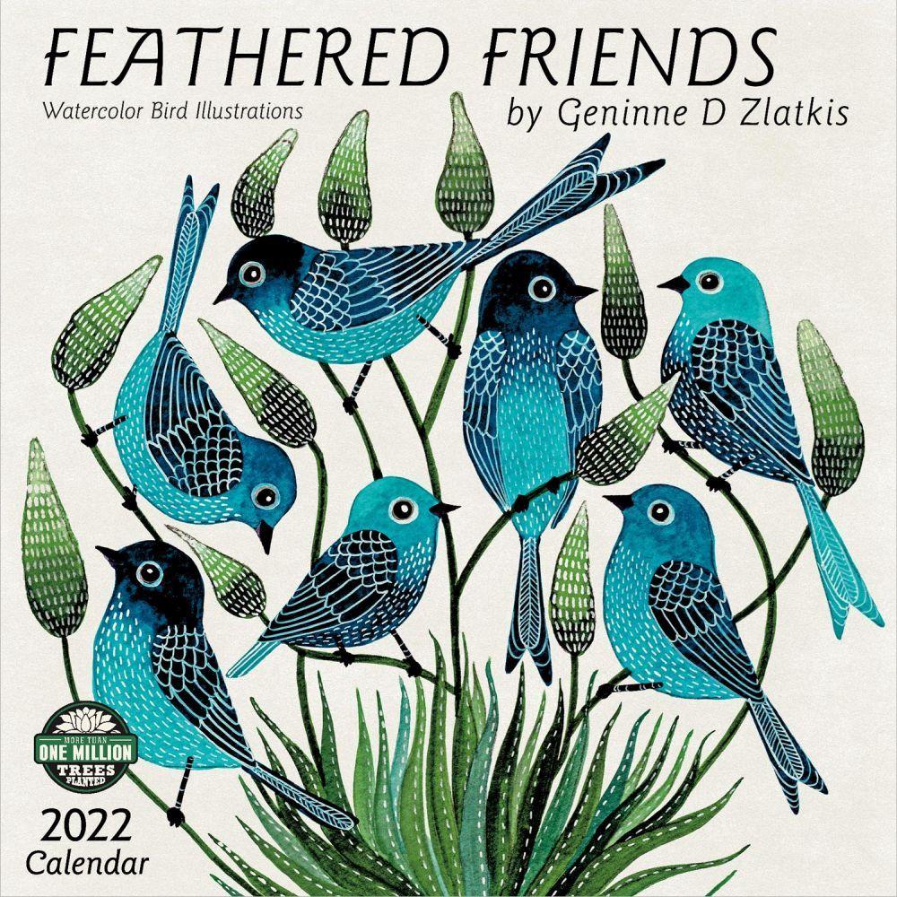 Feather Friends 2022 Wall Calendar
