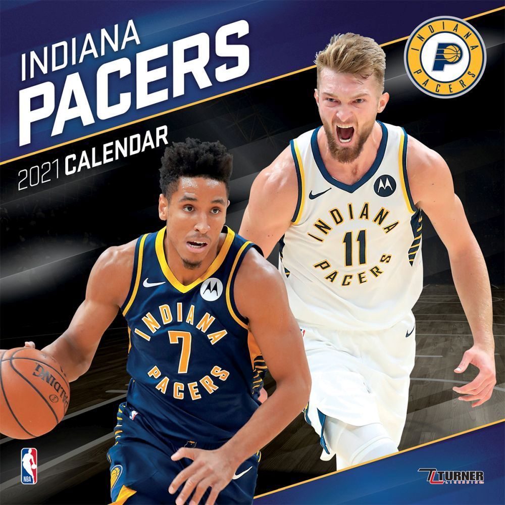 2021 Indiana Pacers Team Wall Calendar