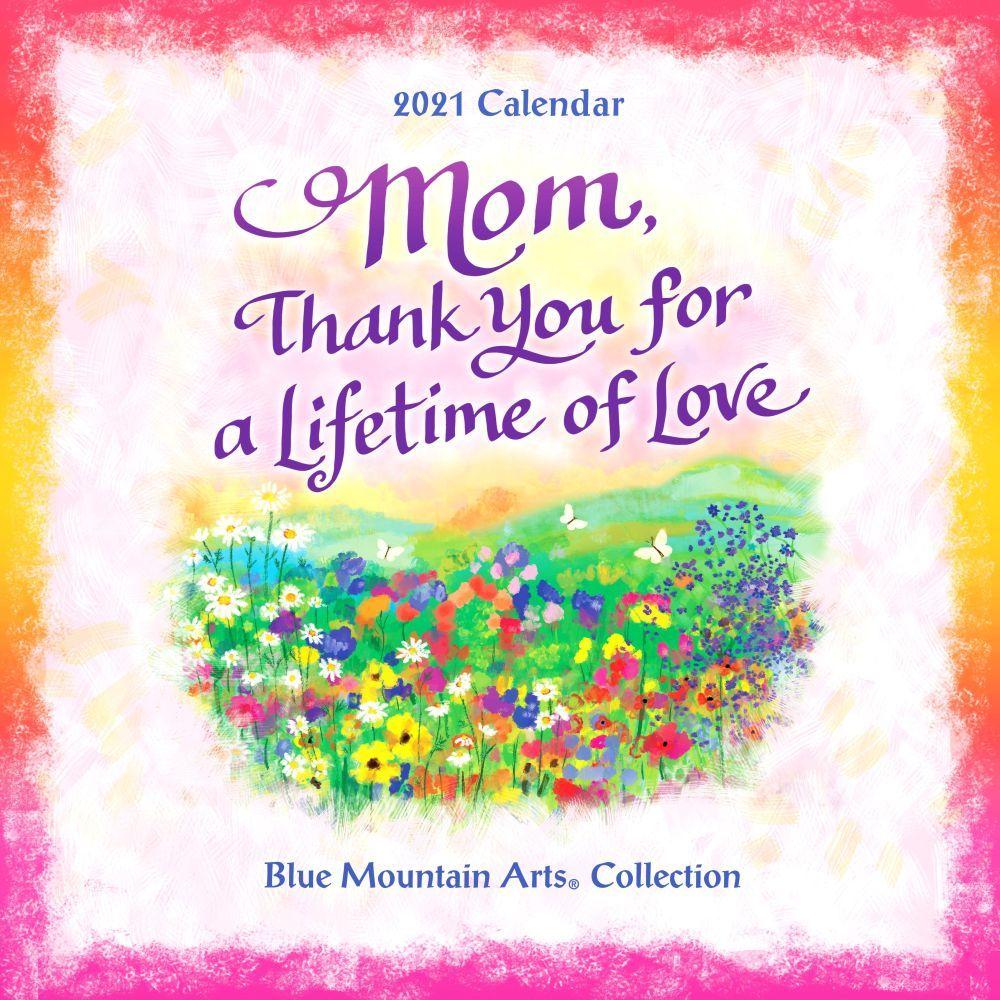 2021 Mom, I Love You Wall Calendar