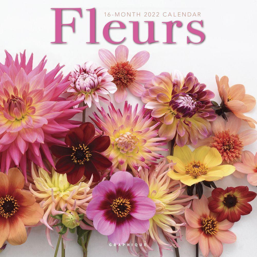 Fleurs 2022 Wall Calendar