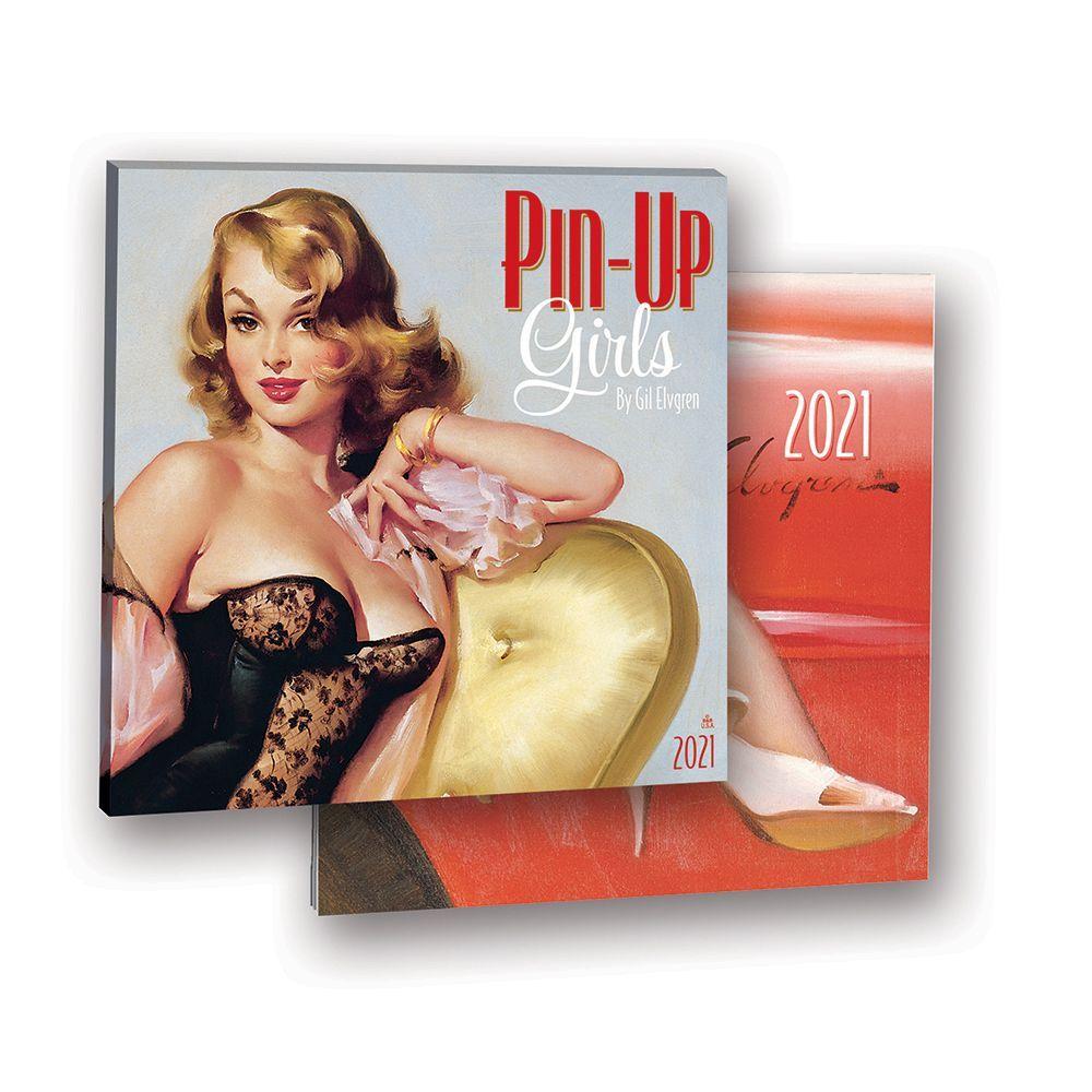 Exclusive Girls Pin-Up Wall Calendar 2021