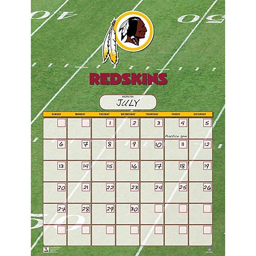 Washington-Redskins-Perpetual-Calendar-1