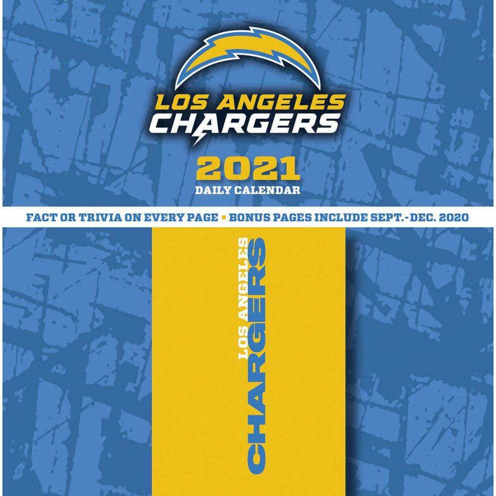 Los Angeles Chargers 2021 Desk Calendar