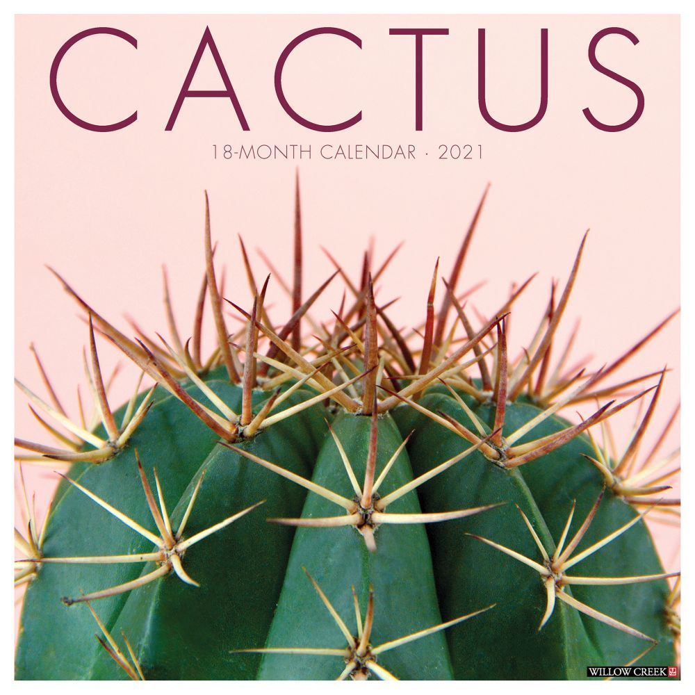 2021 Cactus Wall Calendar