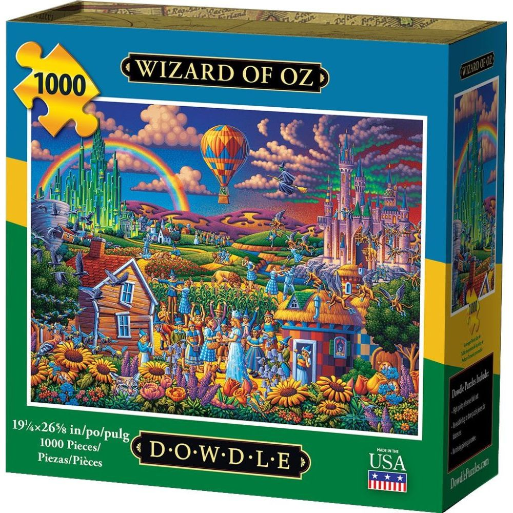 Best Wizard of Oz 1000pc Puzzle You Can Buy
