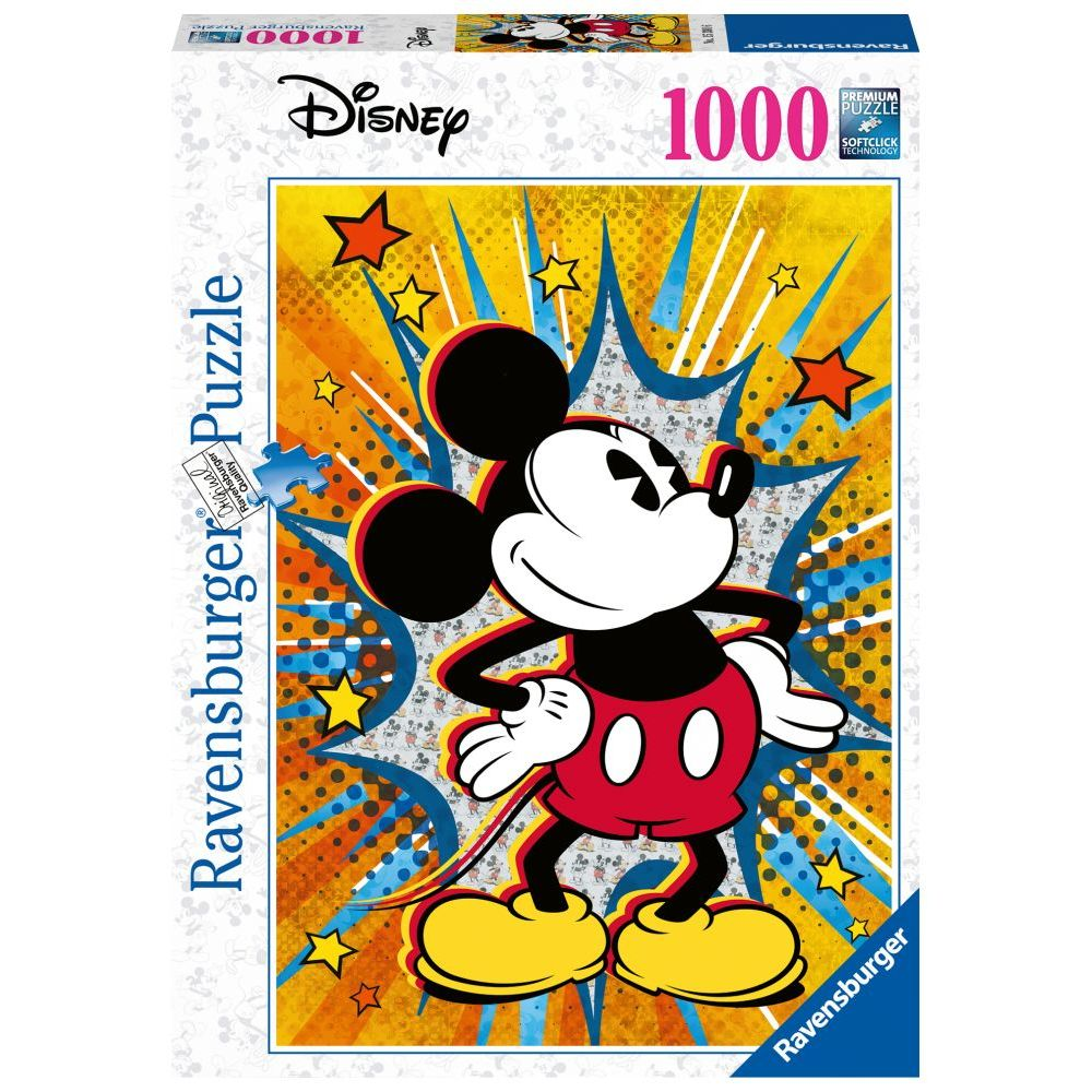 Best Retro Mickey 1000 Piece Puzzle You Can Buy