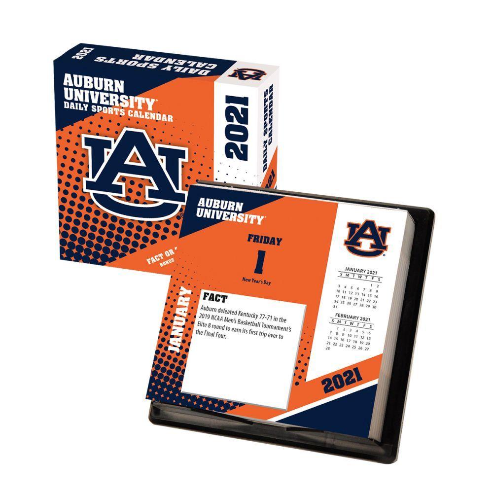 2021 Auburn Tigers Desk Calendar