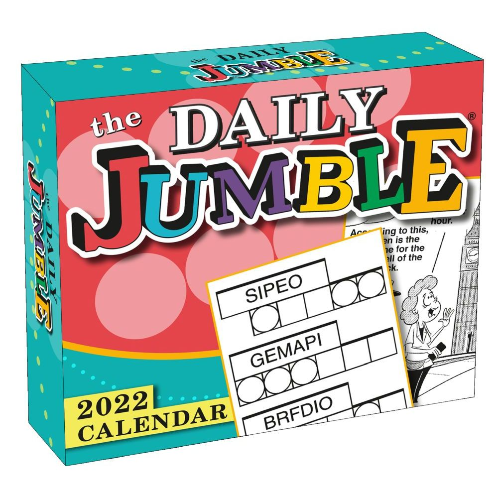 Daily Jumble 2022 Desk Calendar