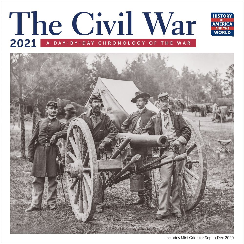 2021 Civil War Chronology Wall Calendar