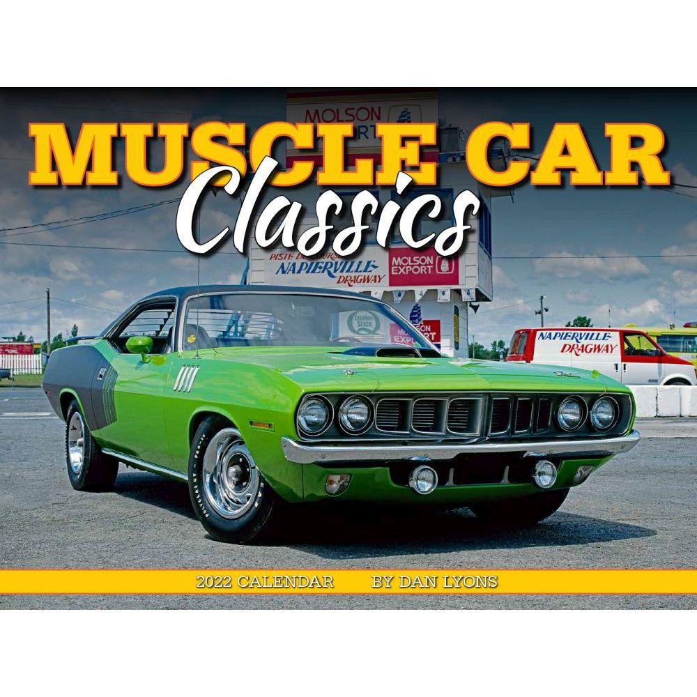 Muscle Car Classics 2022 Deluxe Wall Calendar