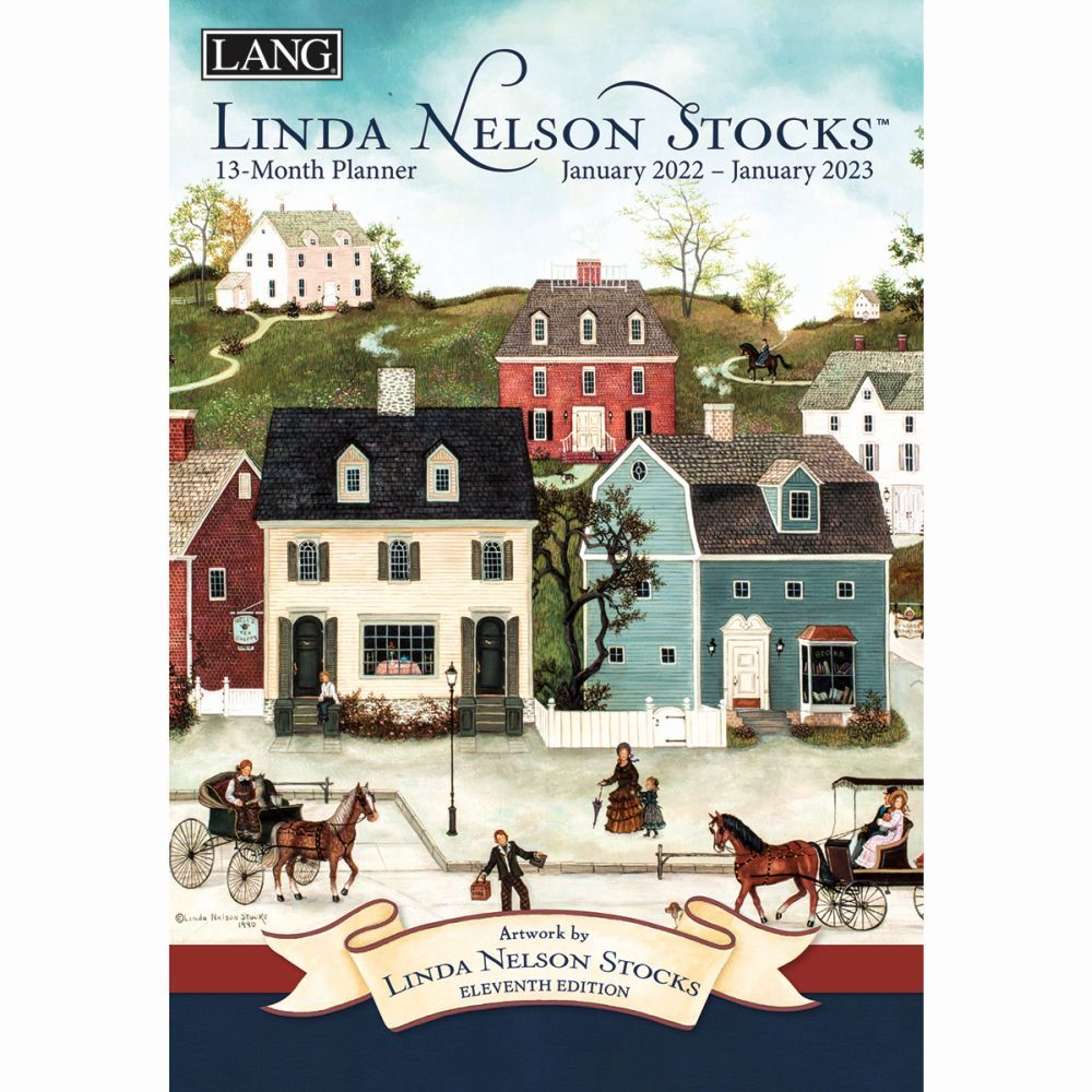 Linda Nelson Stocks Softcover 2022 Monthly Planner