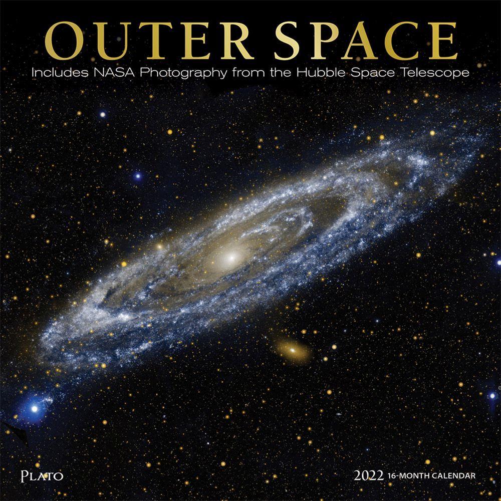 Outer Space 2022 Wall Calendar