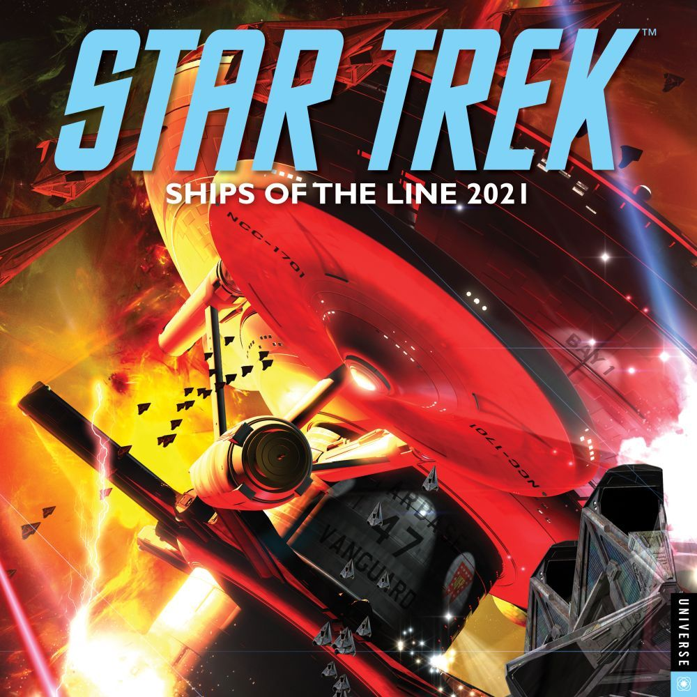 2021 Star Trek Ships Wall Calendar