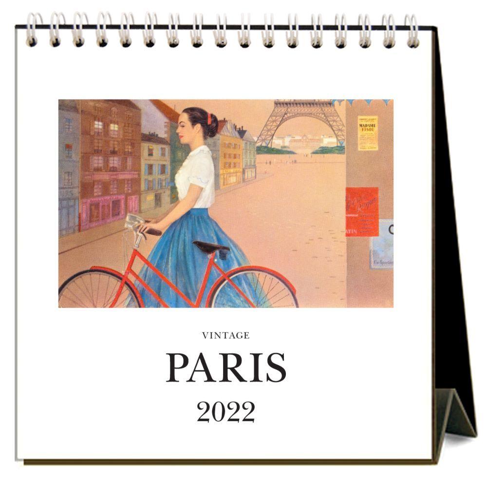 Paris 2022 Desk Calendar