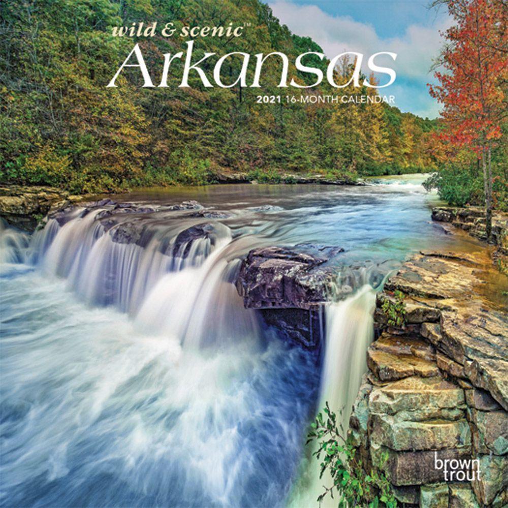 Arkansas Mini Wall Calendar