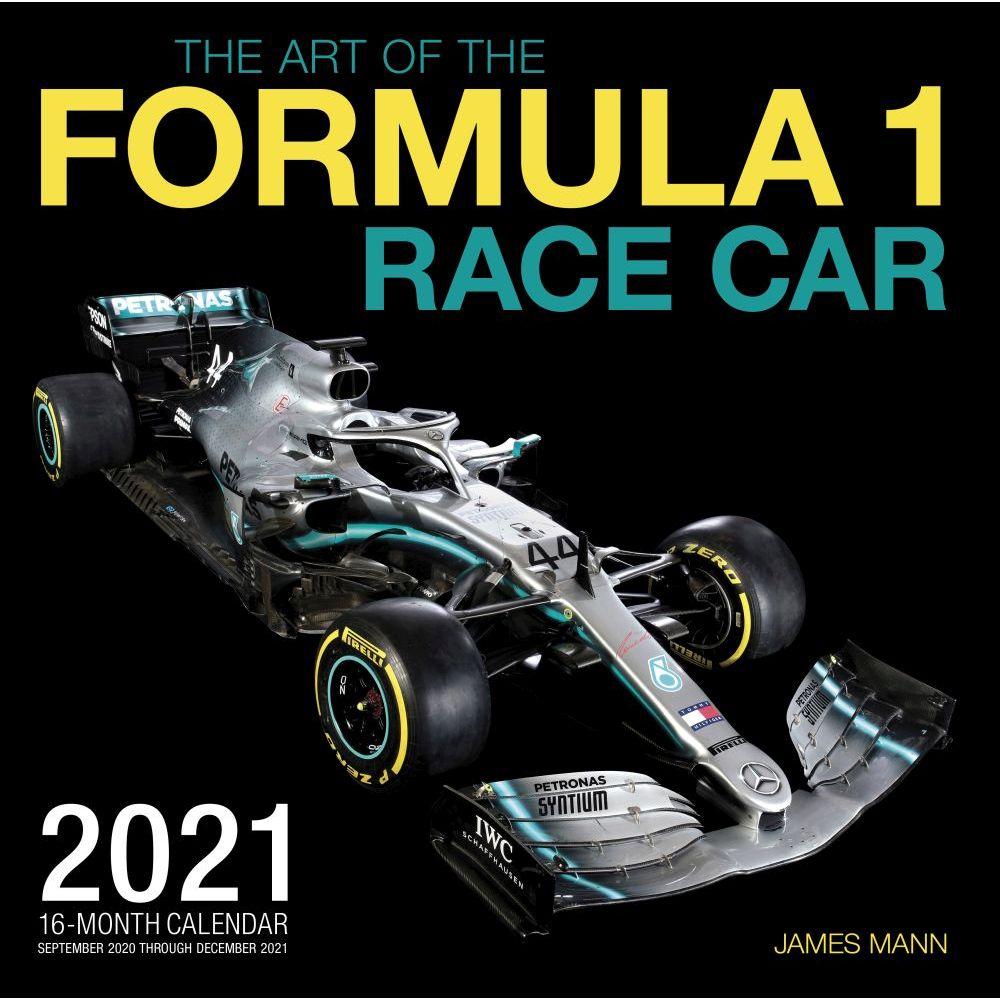2021 Formula 1 Wall Calendar