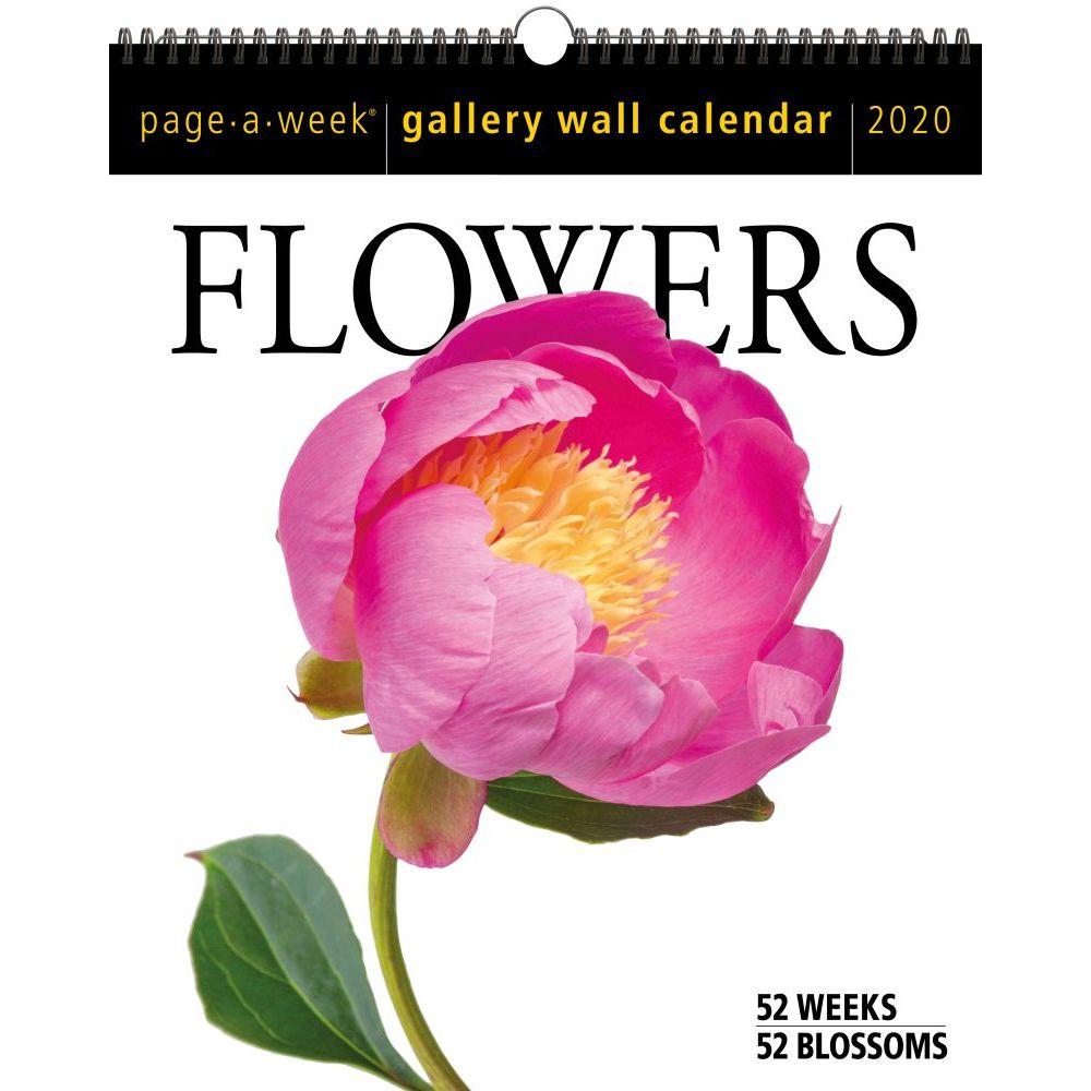 Flowers 2021 Gallery Wall Calendar