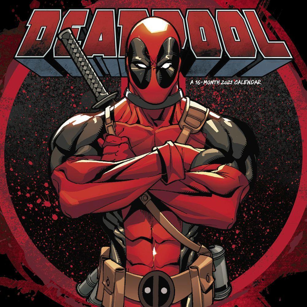 Deadpool Comic Wall Calendar