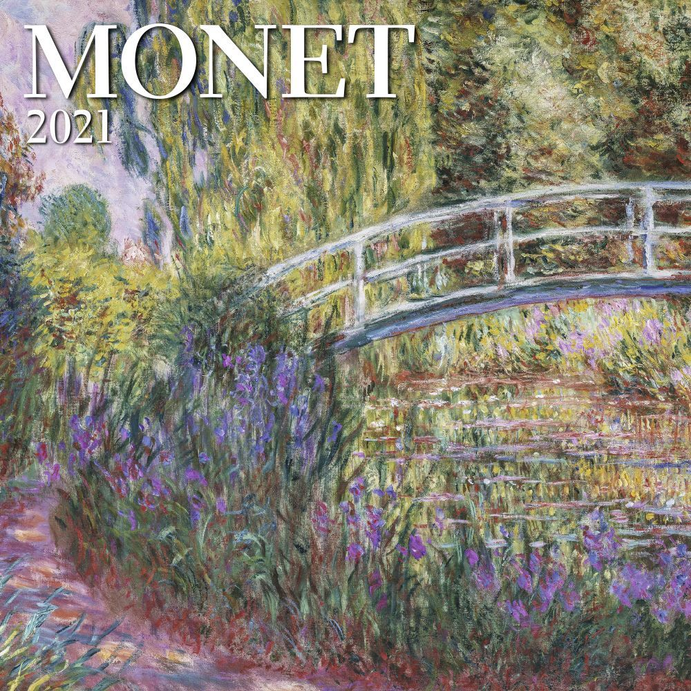 2021 Monet MFA Mini Wall Calendar