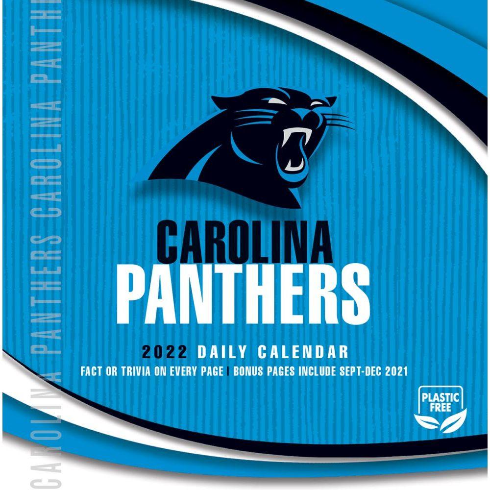 Carolina Panthers 2022 Desk Calendar