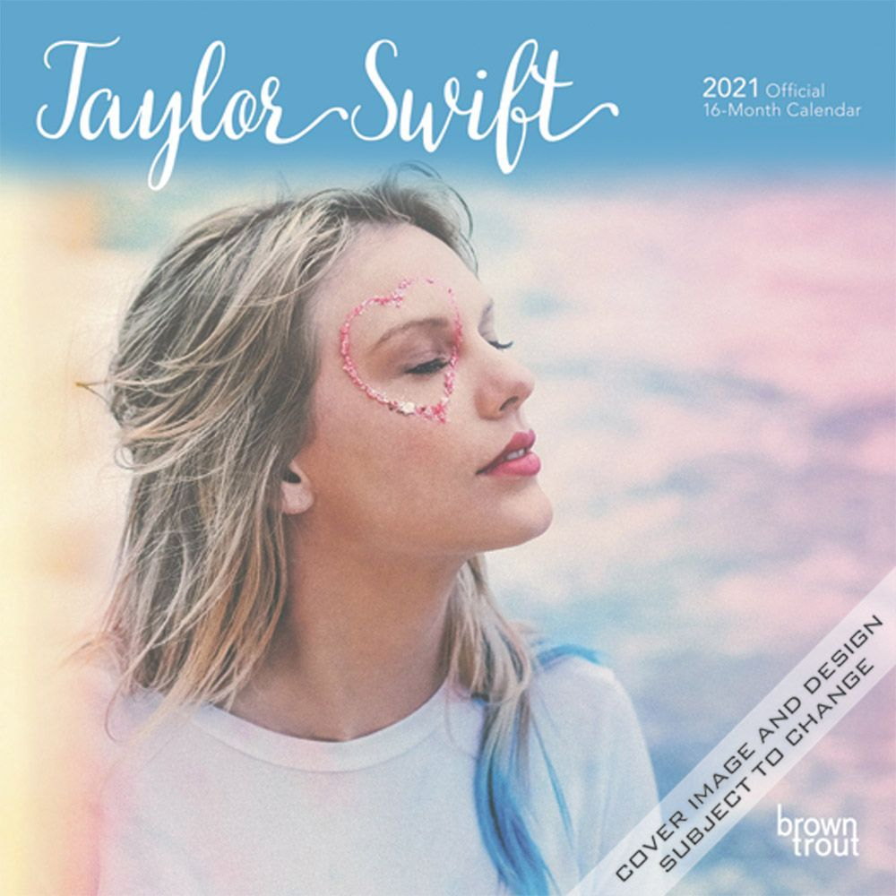 Taylor Swift 2021 Mini Wall Calendar