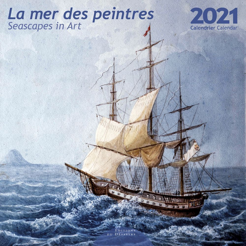 2021 Mer Des Peintres EdD Wall Calendar
