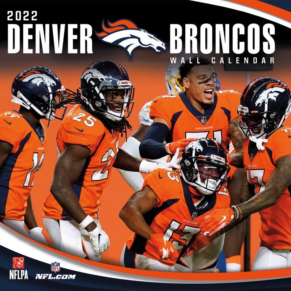 Denver Broncos 2022 Wall Calendar