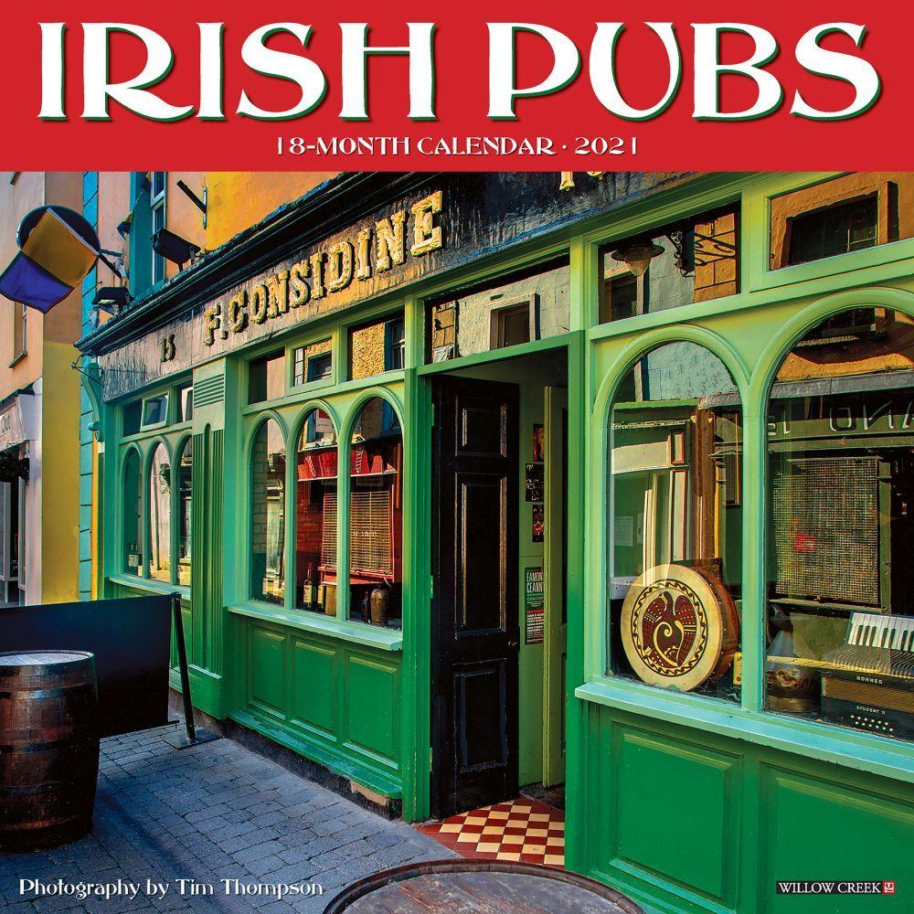 2021 Irish Pubs Wall Calendar