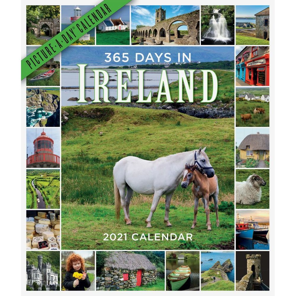 365 Days in Ireland 2021 Wall Calendar