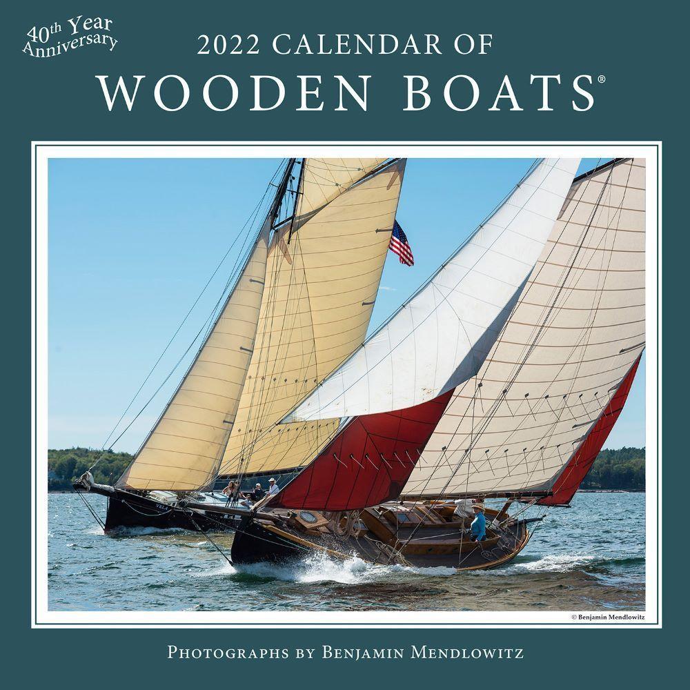 Wooden Boats 2022 Wall Calendar