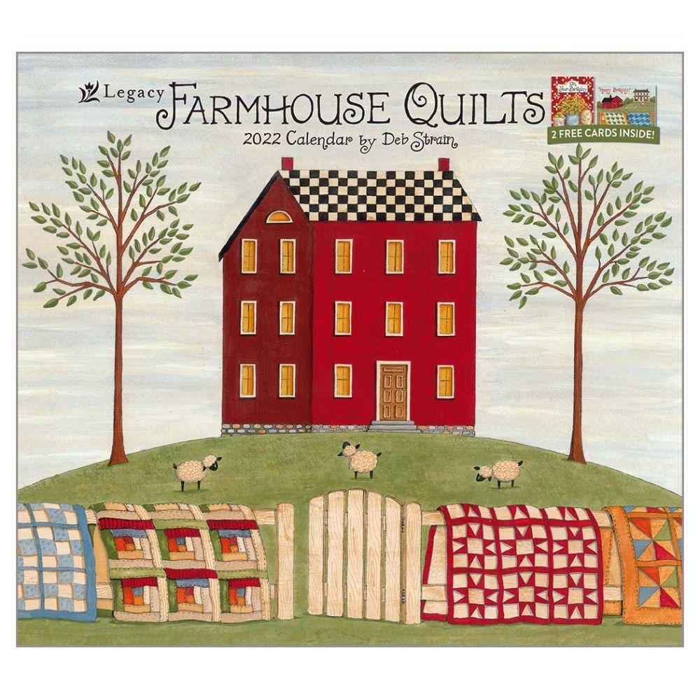 Farmhouse Quilts 2022 Wall Calendar