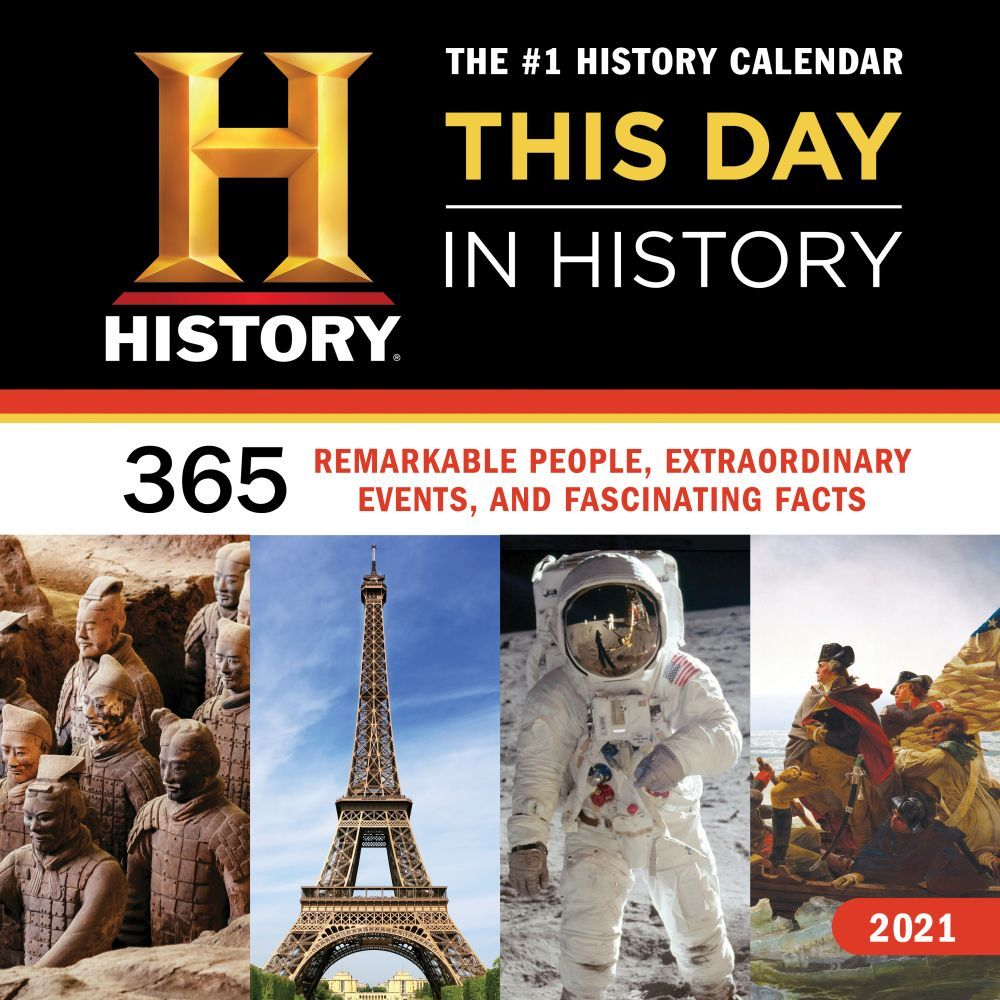 2021 History Channel Wall Calendar