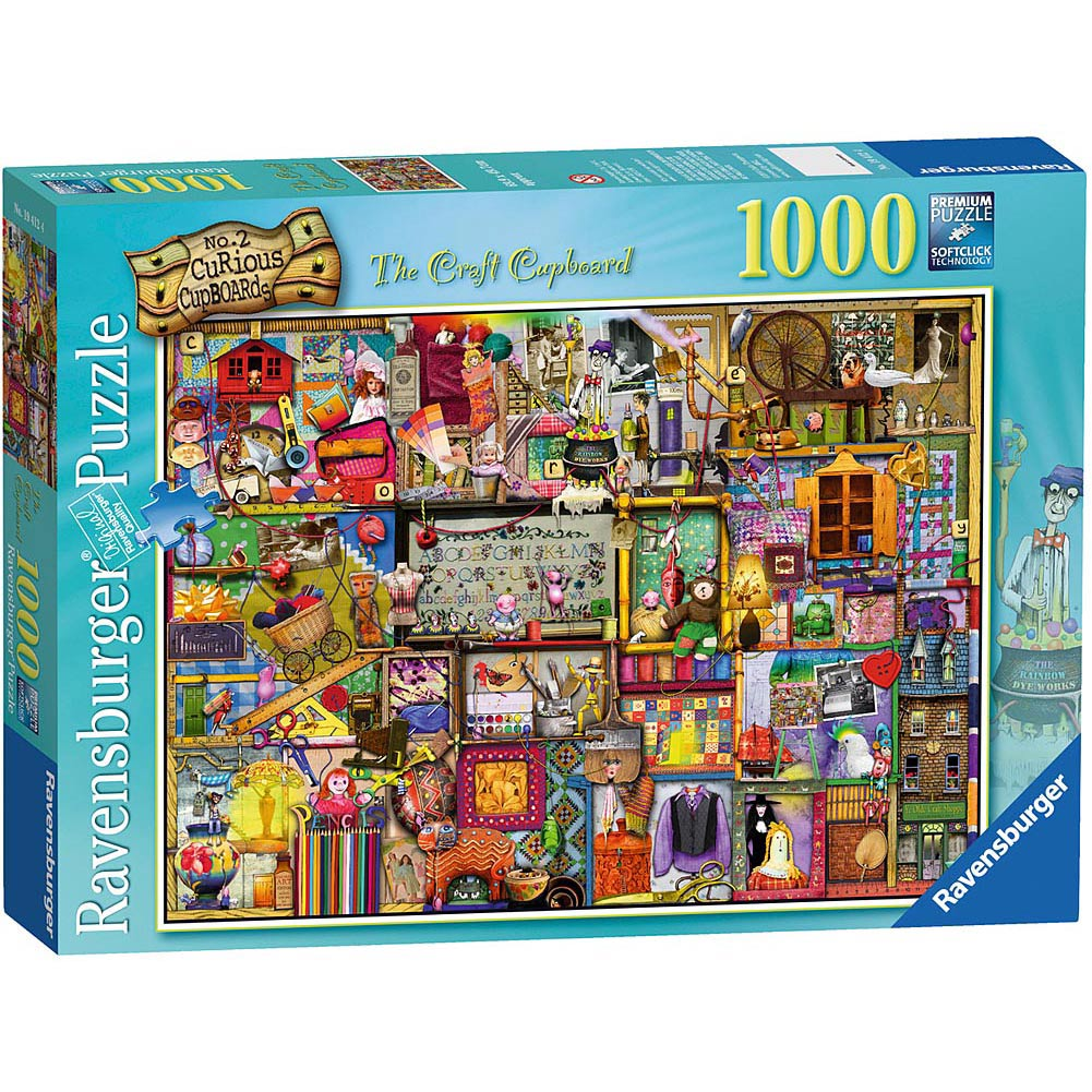 Best Craft Cupboard 1000 Piece Puzzle You Can Buy