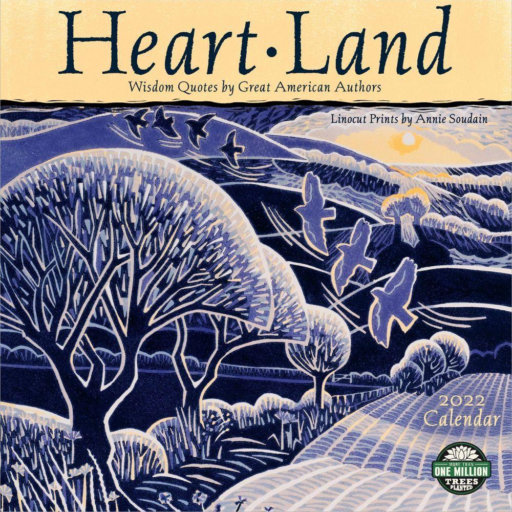 Heart Land 2022 Wall Calendar