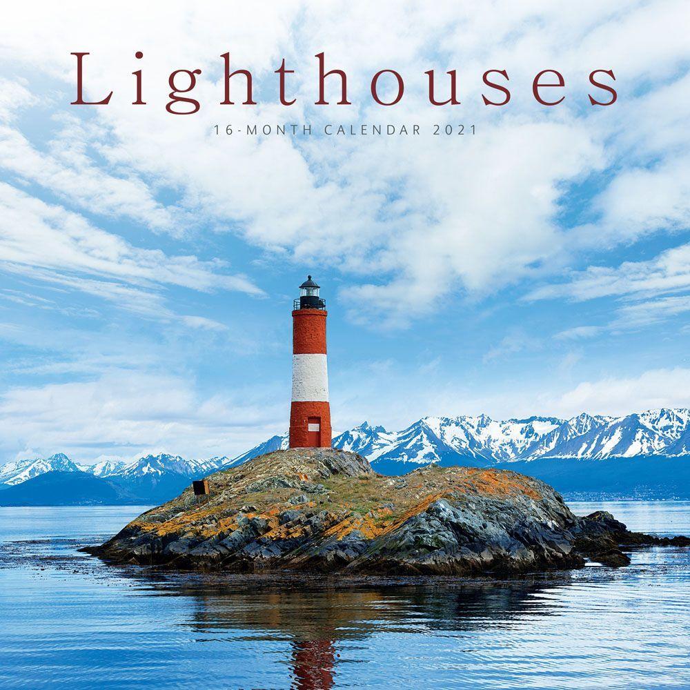 2021 Lighthouses Wall Calendar