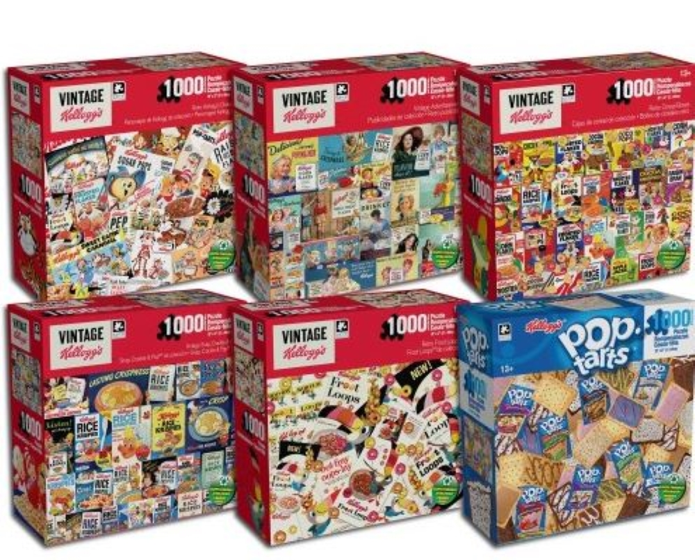 Best Kelloggs 1000pc Puzzle You Can Buy