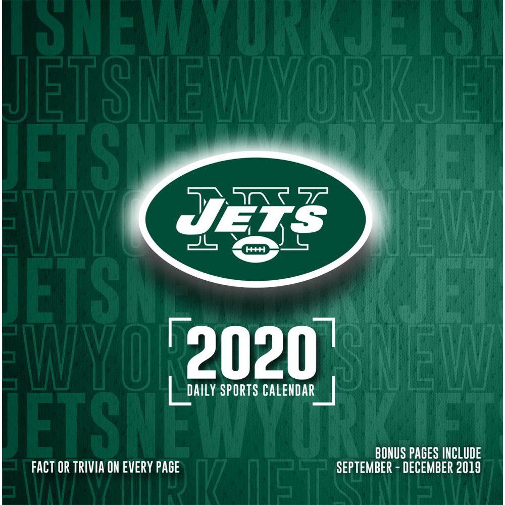 New York Jets 2021 Desk Calendar