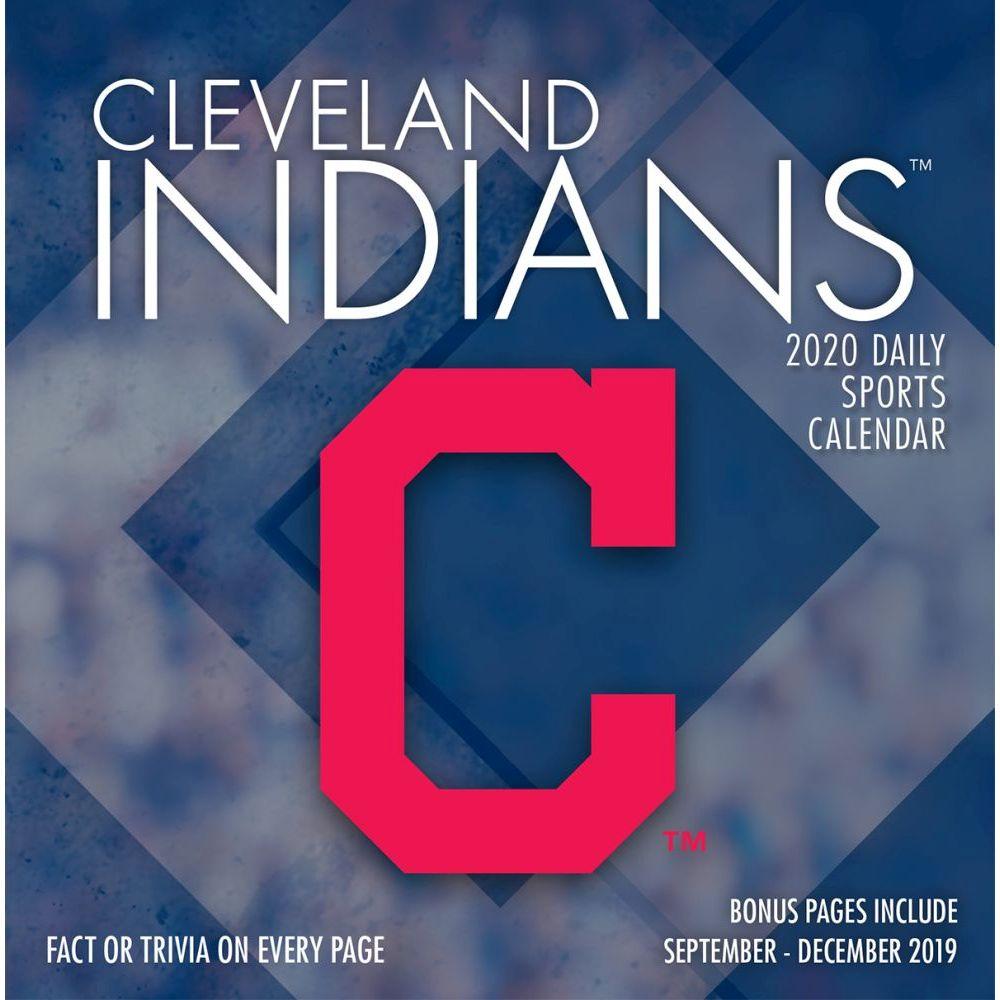 Cleveland Indians 2021 Desk Calendar