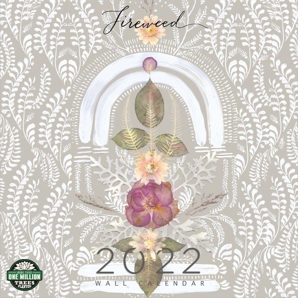 Fireweed Katkin 2022 Wall Calendar