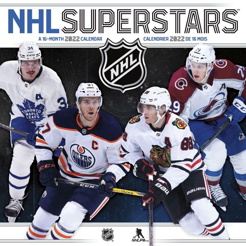 NHL Superstars 2022 Wall Calendar