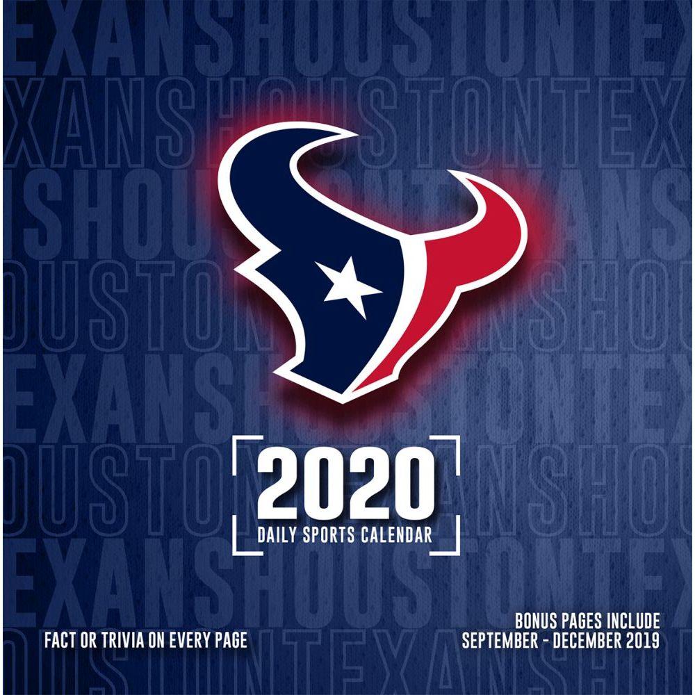 Houston Texans 2021 Desk Calendar