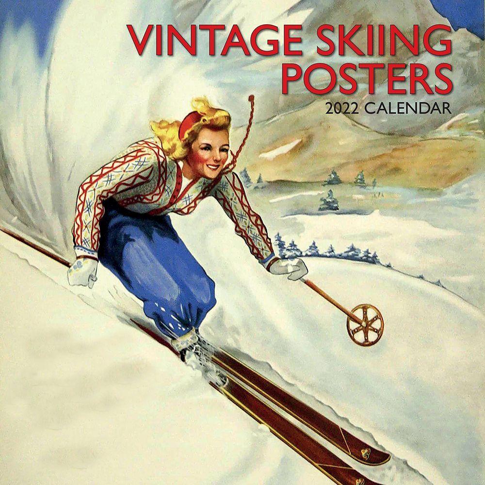 Skiing 2022 Wall Calendar
