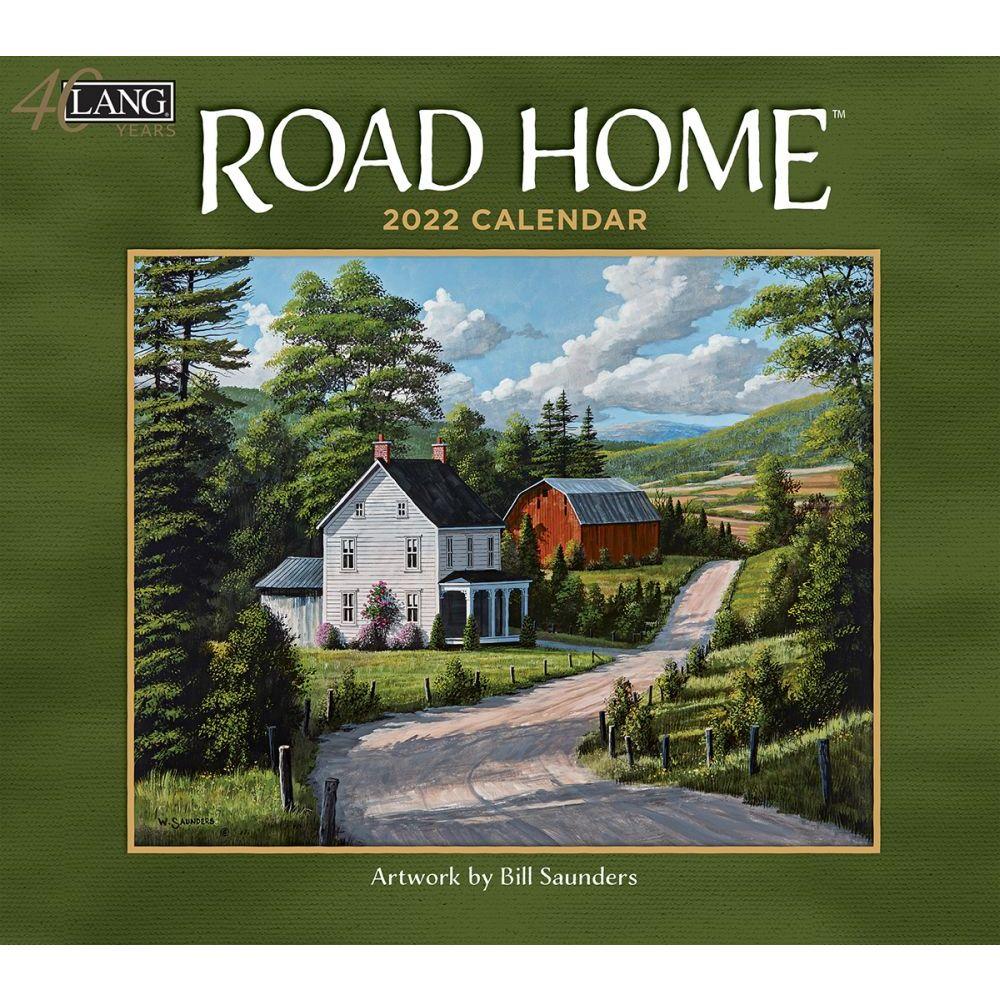 Road Home 2022 Wall Calendar