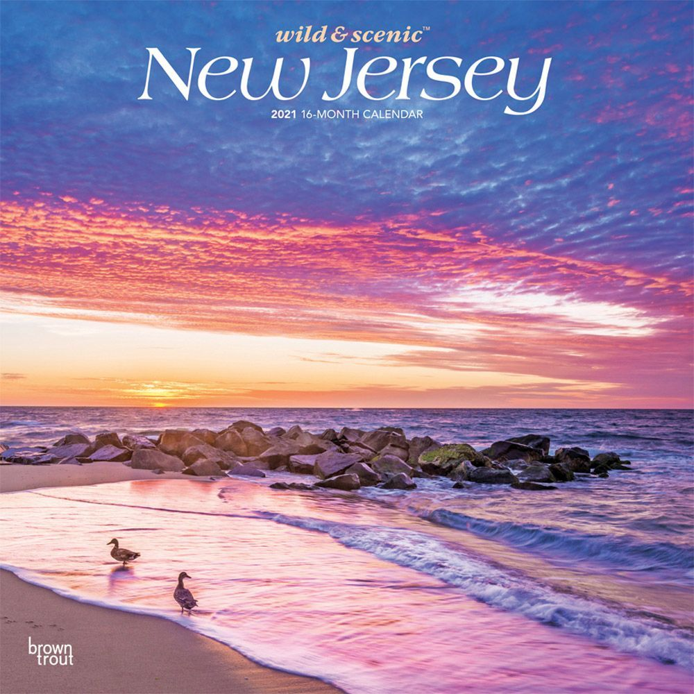 New Jersey Wild and Scenic 2021 Wall Calendar