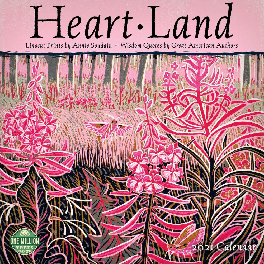 2021 Heart Land Wall Calendar