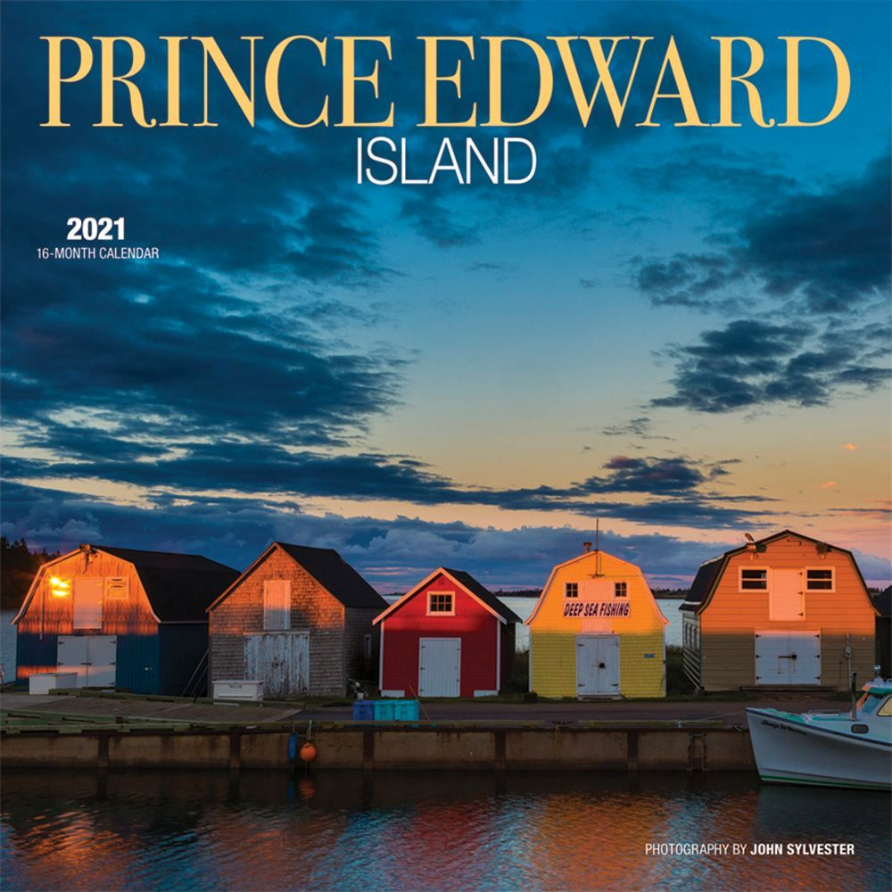 2021 Prince Edward Island Wall Calendar